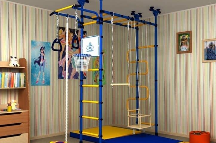 детский спортивный комплекс для детей 3 лет для дома