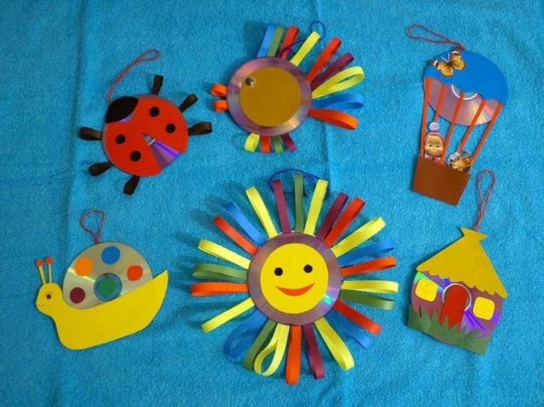 Сделать поделку своими руками в детский сад из бумаги