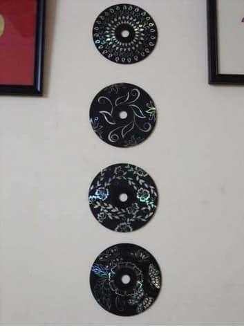 Стильная декоративная композиция для украшения стен