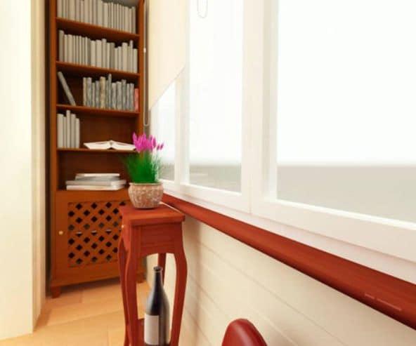 Мебель на балконе или лоджии должна быть компактна и удобна