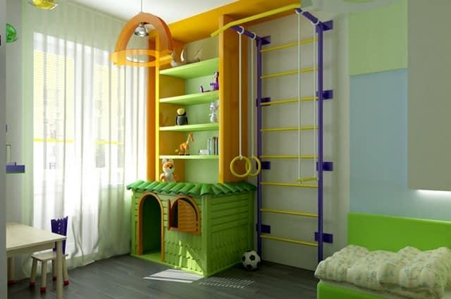 Уголок детской комнаты своими руками