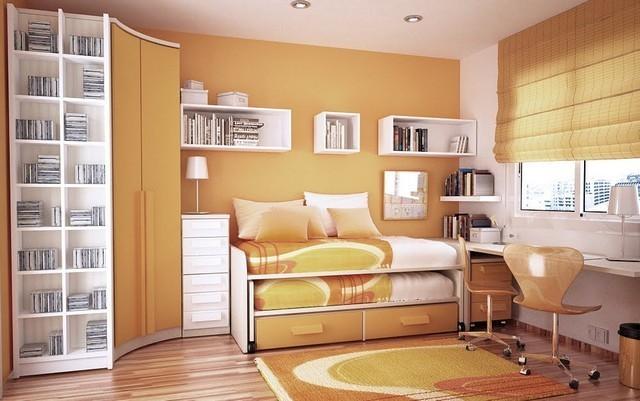 В комнате ребенка должно присутствовать потолочное, настольное и прикроватное освещение