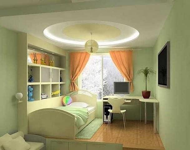 Гармоничное освещение детской комнаты