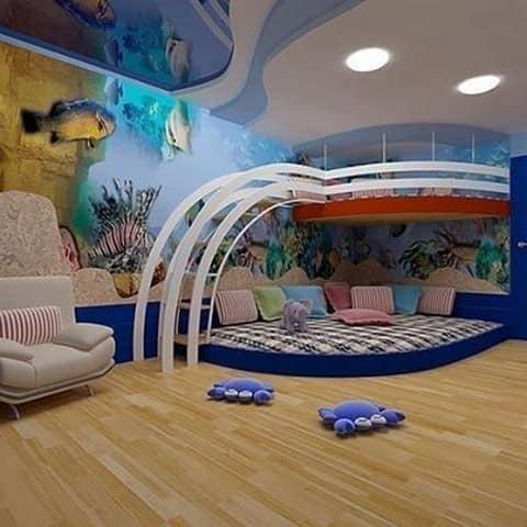 Дизайн играть комнаты
