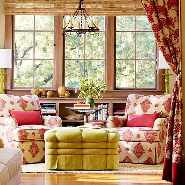 Осенняя тематика: сменные чехлы на мебель