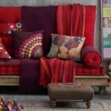 Как использовать текстиль для создания осеннего интерьера (33 фото)