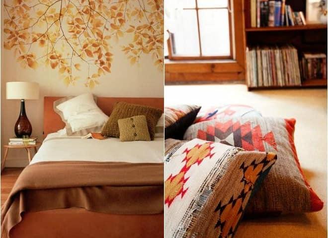Осенний текстиль для домашнего уюта