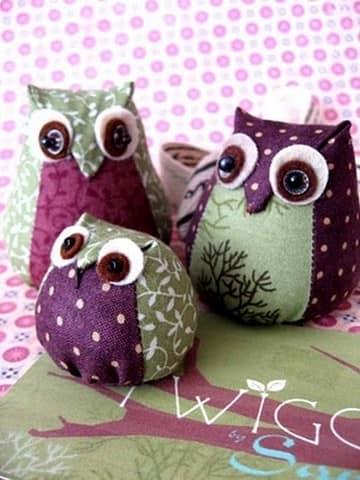 Подушки- игрушки совы