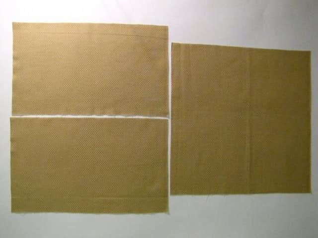 Этап 1. Делаем выкройки для пошива наволочки
