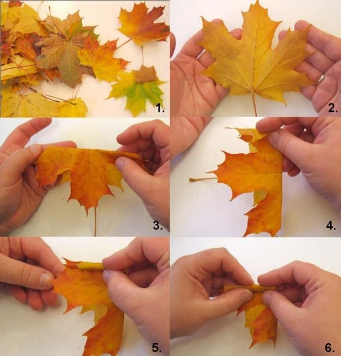 Как сделать кленовые листья фото 457