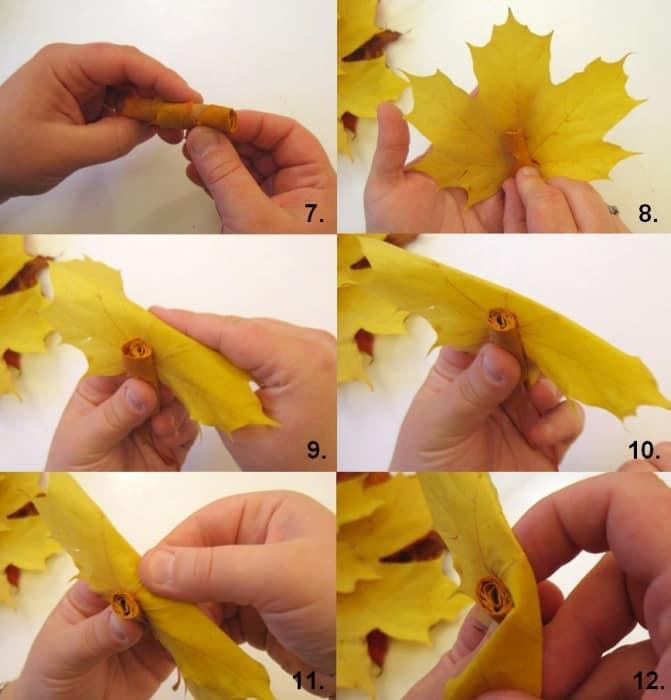Как сделать бумагу из листьев клена 497
