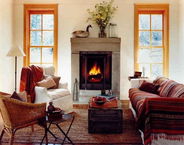 Теплые идеи для уютных осенних интерьеров