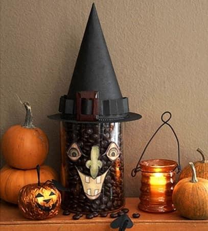 Ведьмина шляпа из бумаги и другие идеи декора