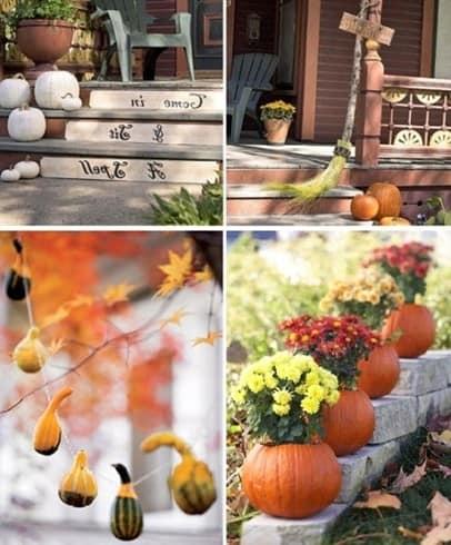 Украшаем к Хэллоуину вход и дом снаружи