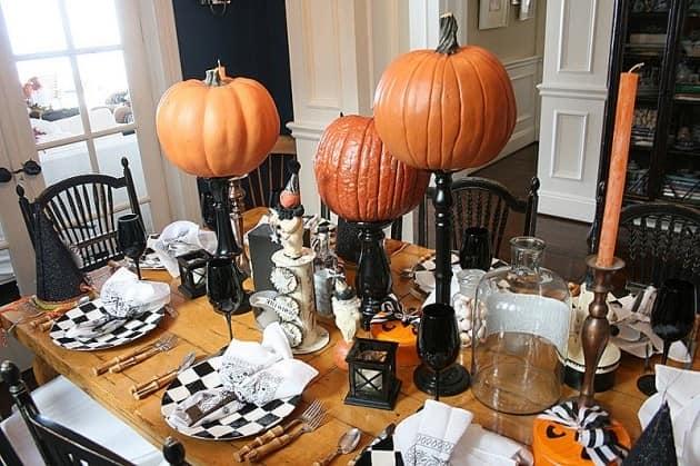 Мебель для праздничного стола на Хэллоуин