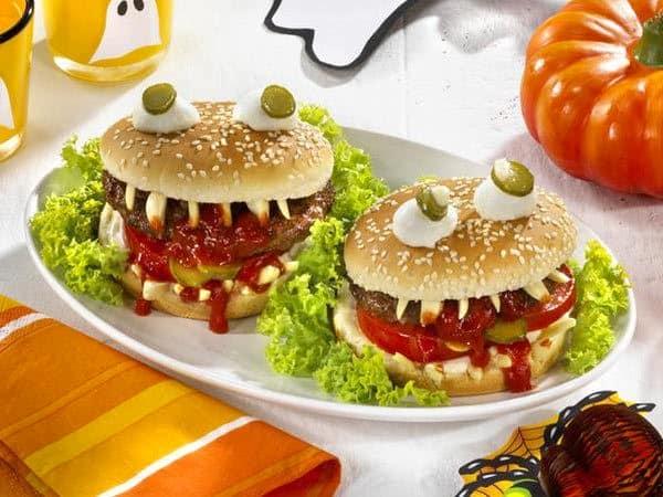 Гамбургер - чудовища