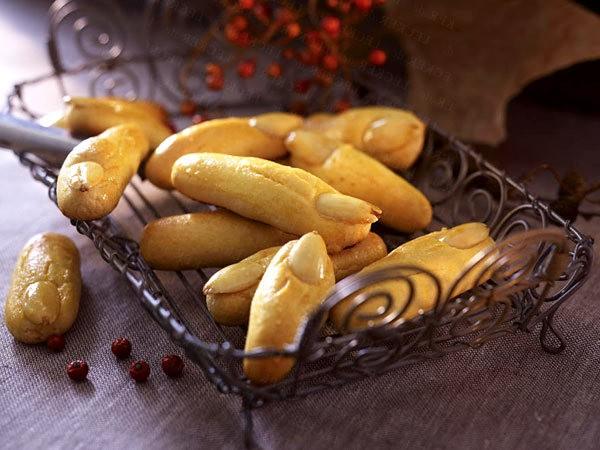 Печенье - человеческие пальчики