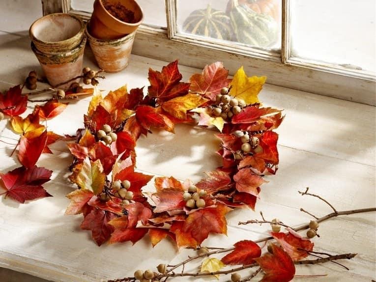 Что можно сделать из кленовых листьев: фото