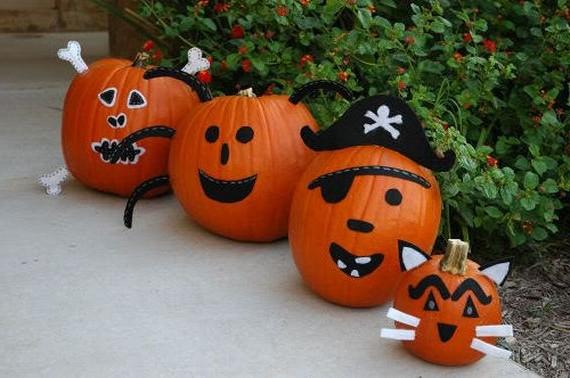 Храбрые пираты - стражи дома из тыквы