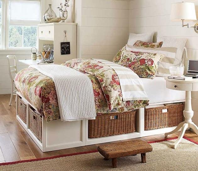 Кровать для хранения вещей