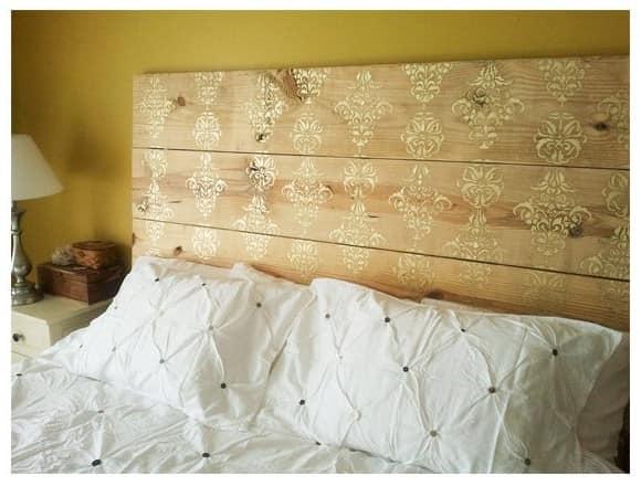 Изголовье кровати в эко-стиле