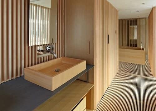 Тканевые ковры грубой текстуры в японском стиле