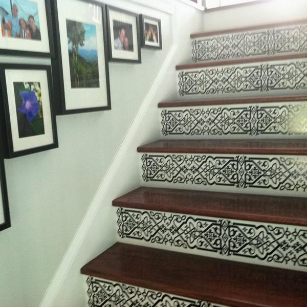 Орнамент имитирующий марокканскую плитку