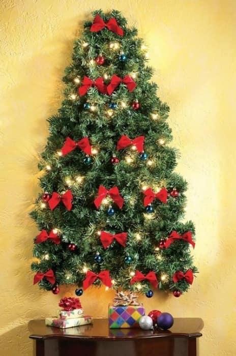 Картинки по запросу Плоские настенные елки на новый год фото