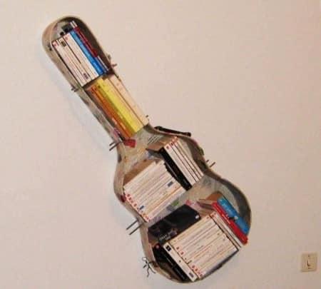 Полка из футляра для гитары