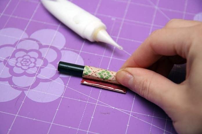 способ изготовления трубочки из бумаги для техники скрапбукинг