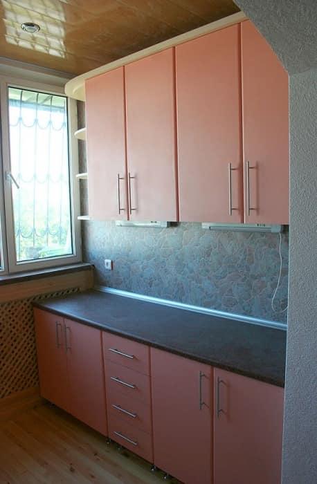Вынос кухни на балкон. - отделка - каталог статей - ремонт б.