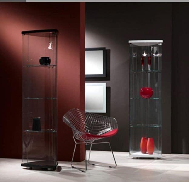 Прозрачная мебель из стекла в интерьере