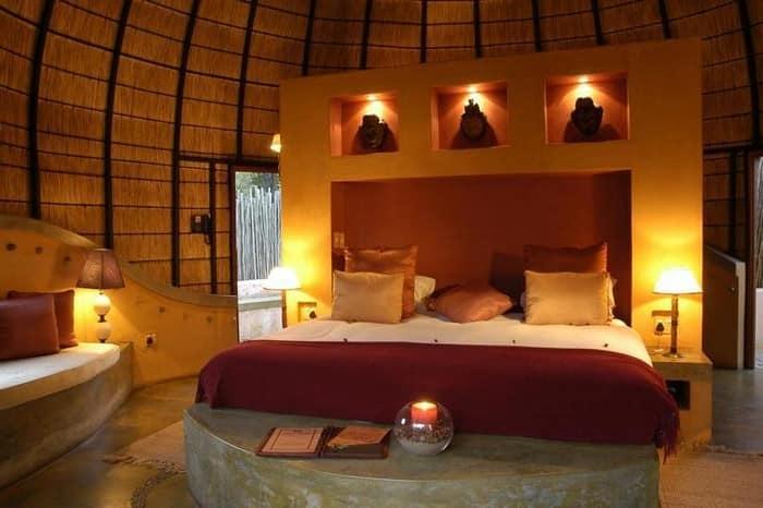 Освещение спальни на День святого Валентина