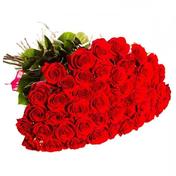 Букет роз ко Дню Святого Валентина
