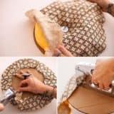 Как сделать пуф своими руками в домашних условиях