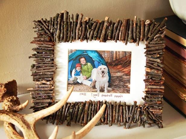 Рамка своими руками из подручных материалов фото