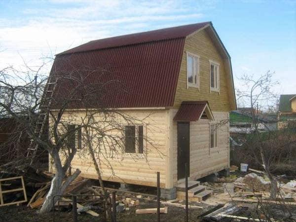 дом из поддонов своими руками фото