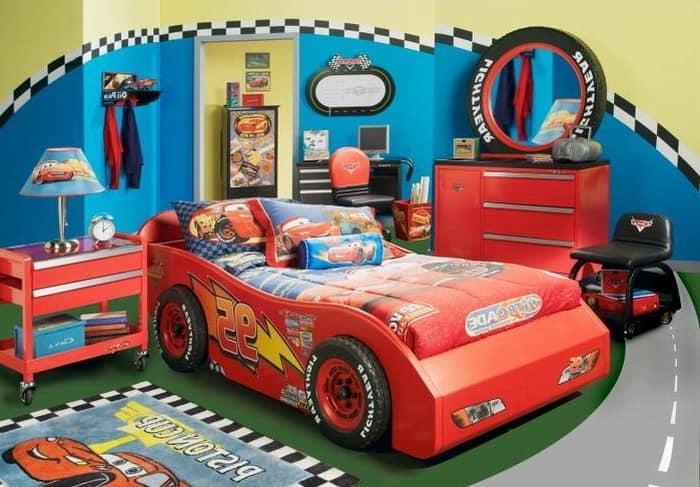 Тематический декор детской комнаты