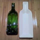 Поделки для дачи из стеклянных бутылок (15 фото)