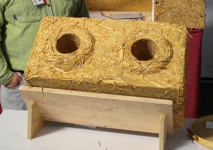 Соломенный блок для строительства дома