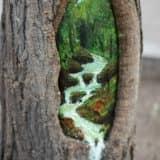 Как украсить деревья в саду на даче (4 фото)