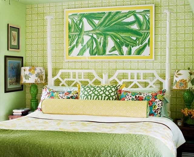 Тропический стиль в летнем интерьере квартиры
