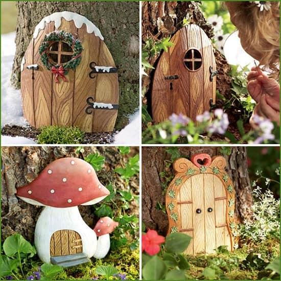 Домики для сказочных эльфов в дереве