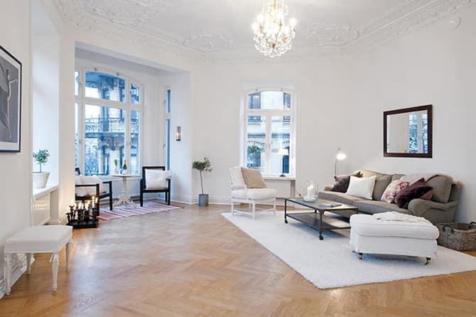 мебель в интерьере скандинавского стиля