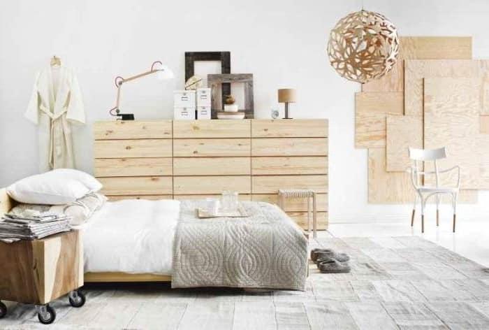 Натуральные материалы в интерьере скандинавского стиля