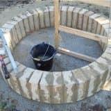 Как оформить место для костра на даче (55 фото)