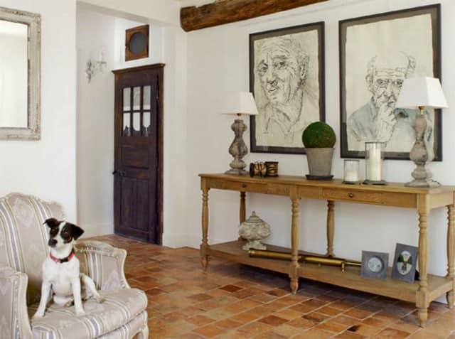 Элементы декора в традиционном французском доме
