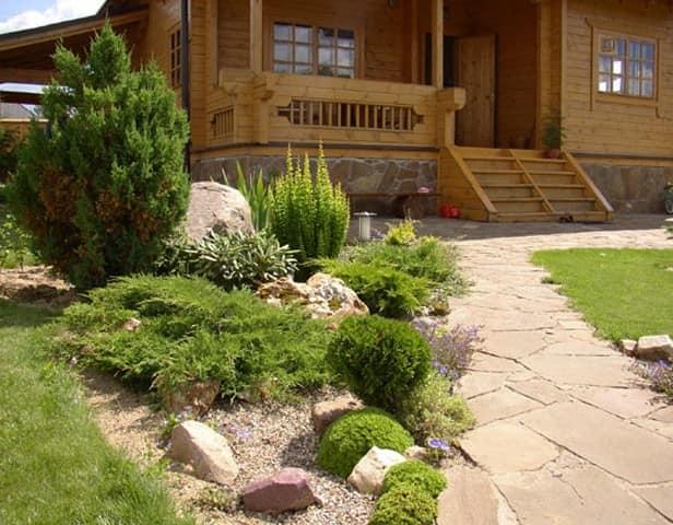 Гравийный сад на дачном участке