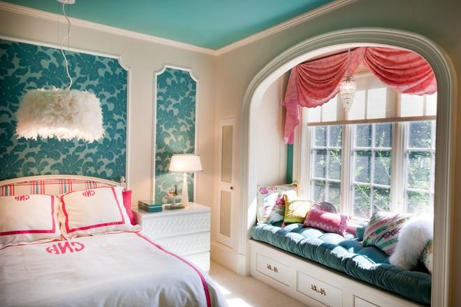 Цветовая гамма комнаты для девушки-подростка