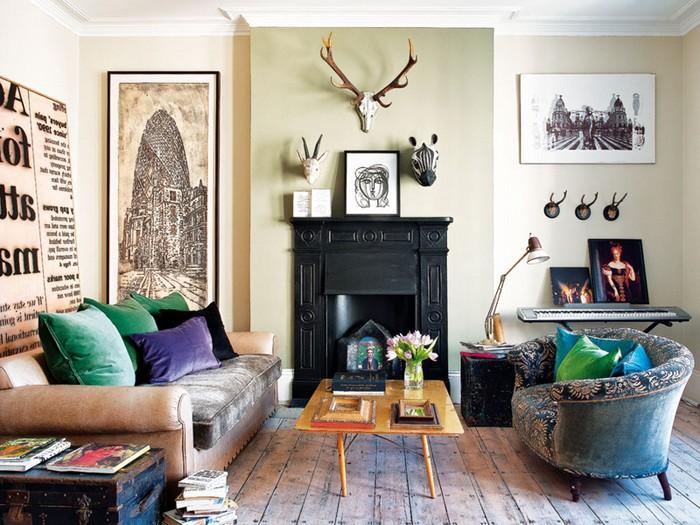 Интерьер в квартире британской дизайнера Bea Deza